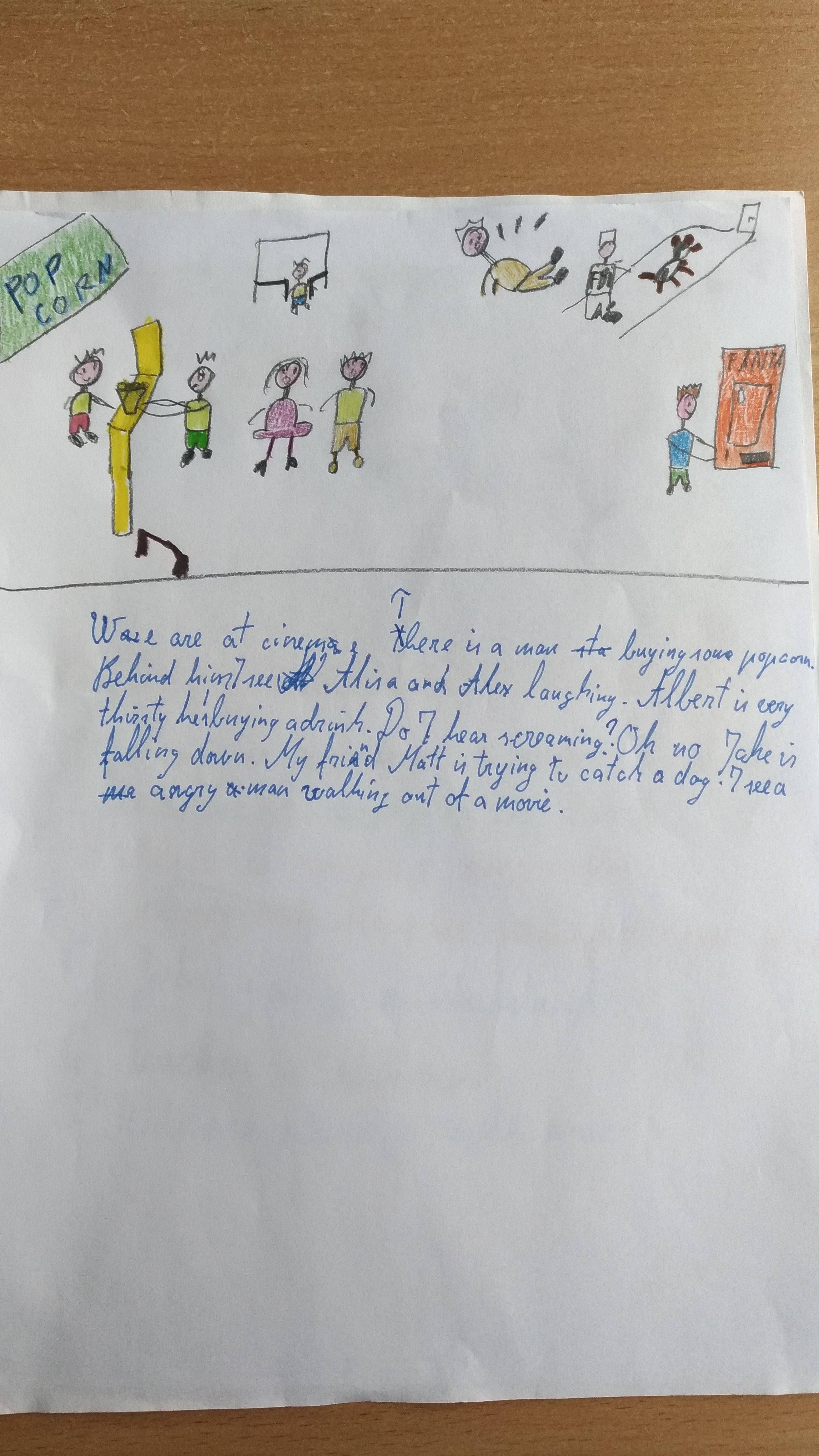 present-continuous-story-Level-A1-Grade-5-3