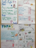 Project Ordering Food and Drinks in a Cafe MENU level A2 Vilnius Jonas Basanavičius pregymnasium 5th graders 2019 (26)