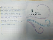 Project Ordering Food and Drinks in a Cafe MENU level A2 Vilnius Jonas Basanavičius pregymnasium 5th graders 2019 (6)