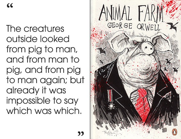"an overview of the chapter eleven in the novel animal farm by george orwell In the novel ""animal farm"" by george orwell, the animals take over the farm and  develop their own  animal farm book review summary animal farm is a novel  by george orwell  2575 words 