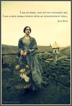 voice in jane eyre The actress joan fontaine as jane eyre in the 1943 film 20th century fox  it  was the narrative voice of jane—who so openly expressed her.