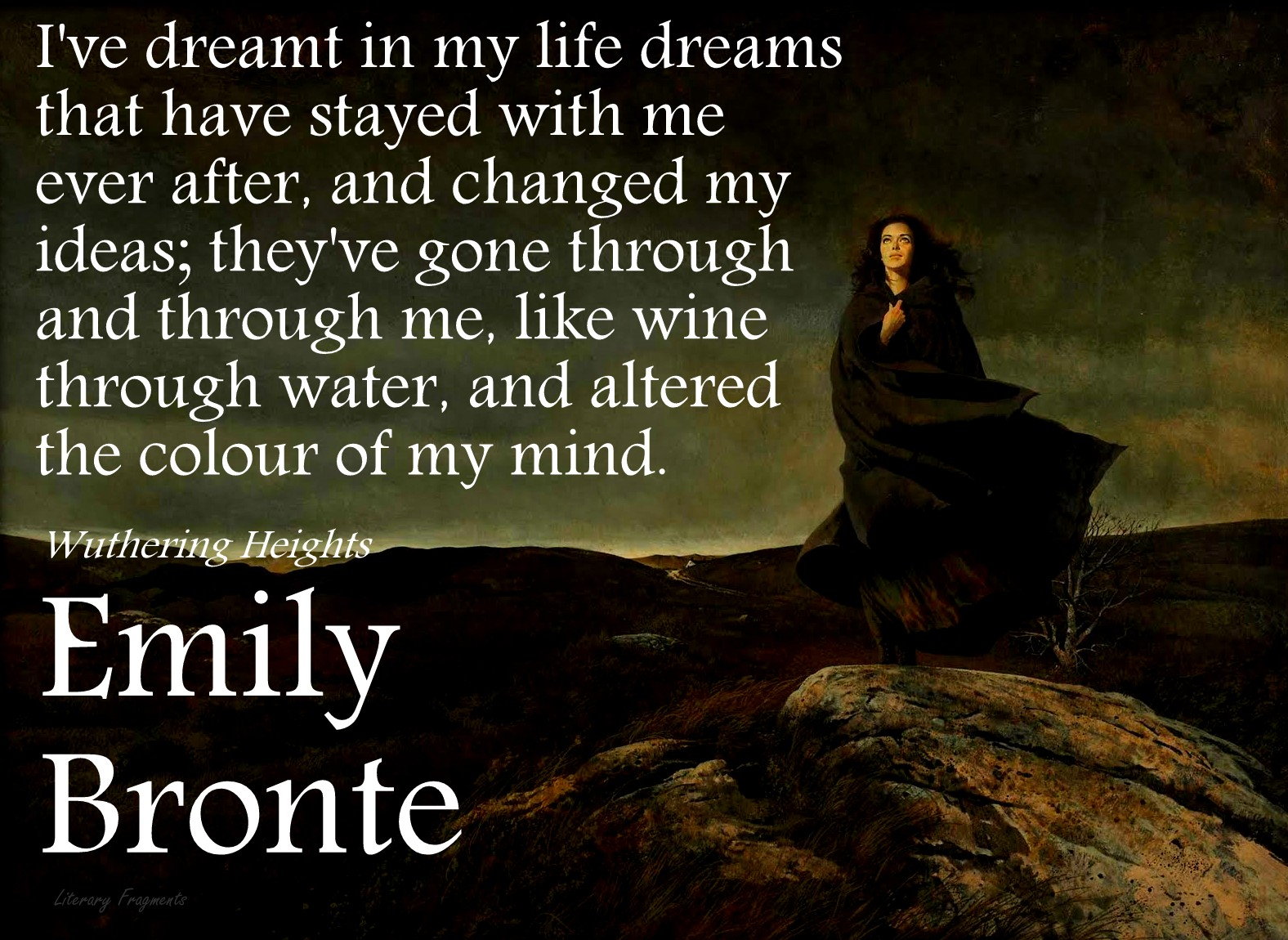 wuthering heights writing style Emily bronte wuthering heights and selected poetry , this passage also demonstrates emily bronte's style an idea in writing is to write what.
